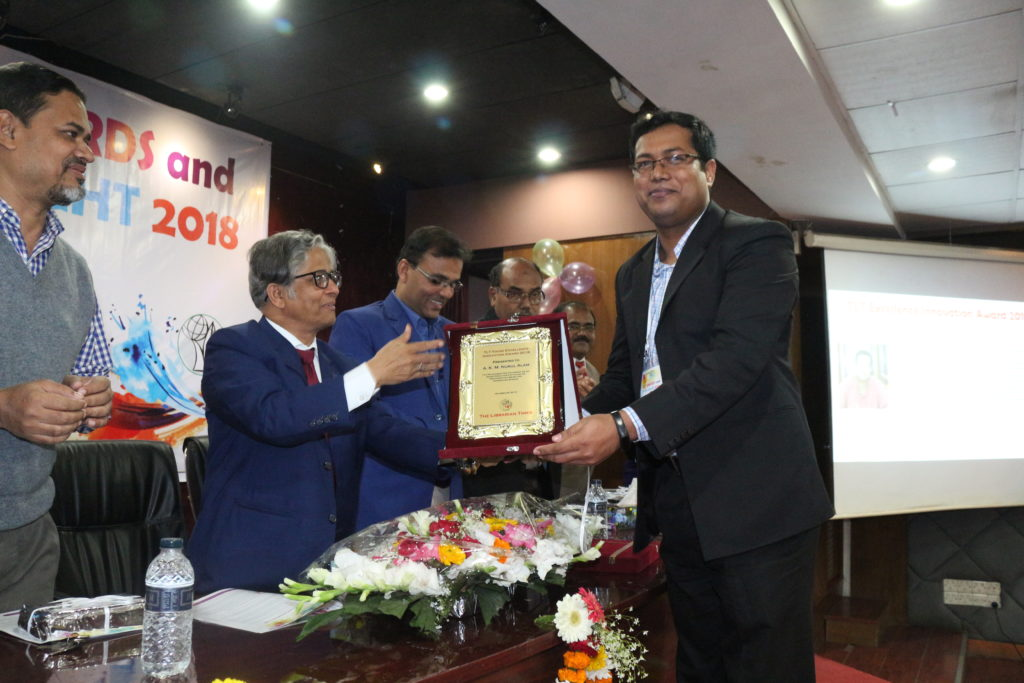 SLiMS Bangladesh Country Coordinator wins TLT Young Excellence Innovation Award 2018