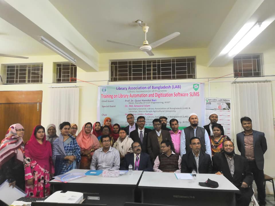 "Training program on ""Library Automation Using SLiMS"" held in Khulna"