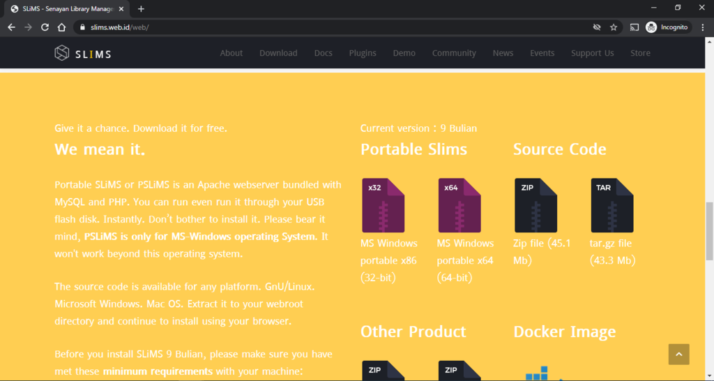 How to Setup and Use Portable SLiMS or PSLiMS